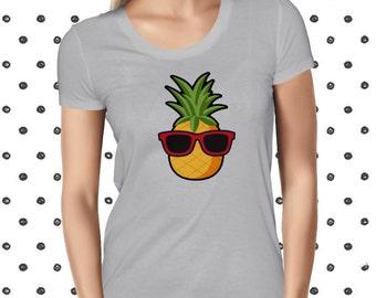 Cute Vegan Tee Vegetarian Tee Pineapple Funny Vegan Tshirt Vegan Shirt Fruit Tee Cute Plant Tee Funny Fruit T-shirt Cute Vegan Shirt Plantee