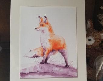 Noble Hunter - Original Ink Illustration