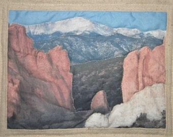 Pikes Peak Pin Quilt