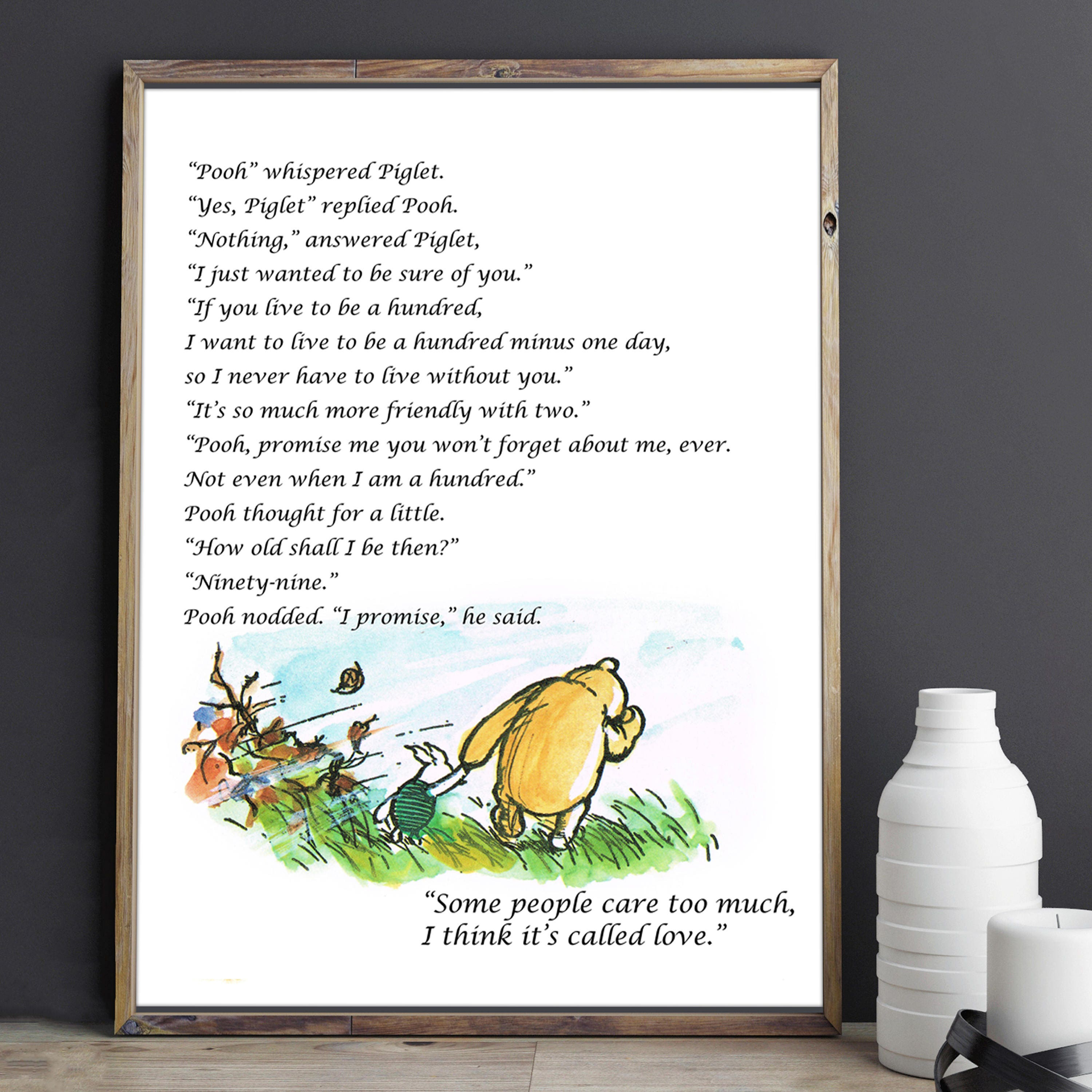 Pooh Love Quotes Winnie The Pooh Wedding Love Quotes If You Live To Be A