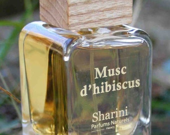 Musc dhibiscus 50ml Eau de Parfum - Organically certified, hand crafted Perfume