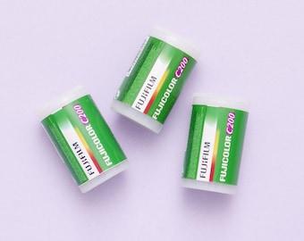 3 rolls Fresh Fuji Fujicolor C200 35mm 24exp Colour Negative Photo Film Fujifilm (2019)