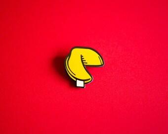 Fortune Cookie Enamel Pin