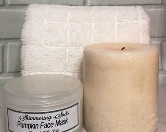 Pumpkin Face Mask - Bentonite Face Mask - Vegan Face Mask - Face Mask - Clay Face Mask - Kaolin Face Mask - Vegan Mask