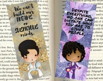 Music Legend inspired Bookmarks
