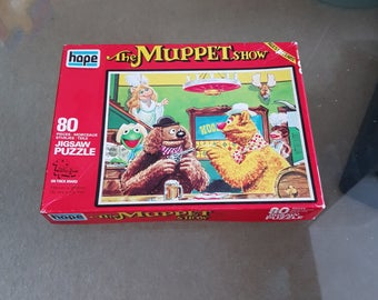 Vintage 'The Muppet Show' Rolf In The Saloon' Jigsaw