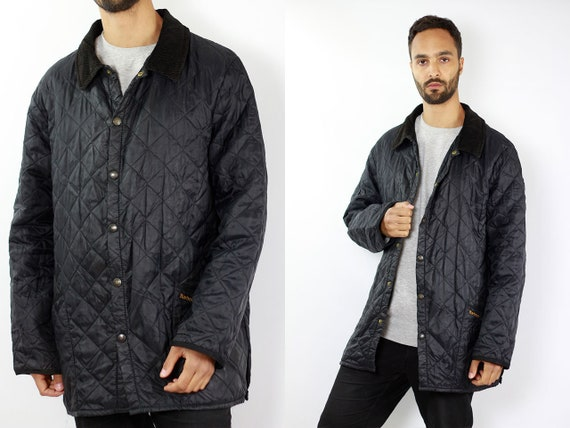 Barbour Jacket Black Quilted Barbour Coat Barbour Jacket Quilted Quilted Coat Black Barbour Coat Liddesdale Barbour Jacket Barbour Coat