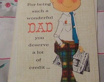 charming father's day card