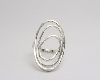 Silver Ring - Modern - Funky