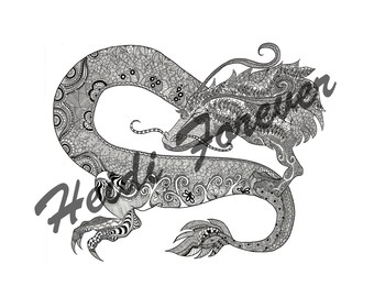 M's Chinese Dragon