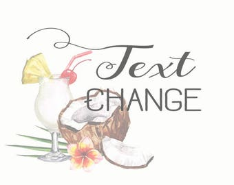 Text Change