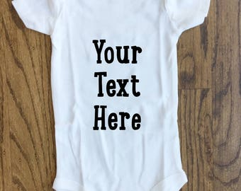 Personalized baby ONESIE® | custom baby clothes | personalized baby gift