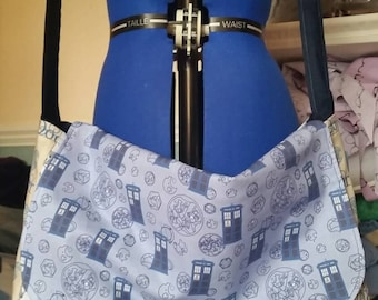 Custom Doctor Who messenger bag