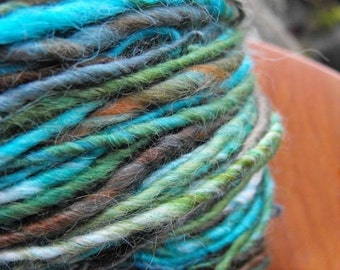 12 skeins handspun yarn, Choose your own for bulk pricing, handpainted yarn, free shipping-Yarnarchy