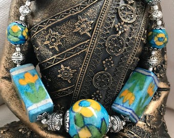 Clay jewelry; Clay jewelry necklace; Clay jewellery; Polymer clay; Polymer clay jewelry; Ceramic jewelry; Ceramic necklace; Summer jewelry