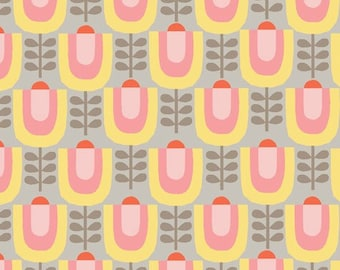 Organic Cotton Fabric - Monaluna Haven - Little Garden