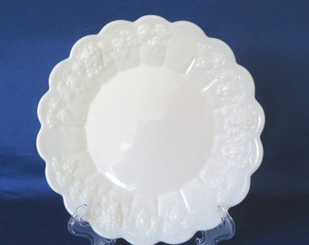 Westmoreland Paneled Grape Luncheon Plate