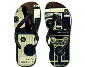 Appareils photo Vintage - Summertime Flip Flops - caméras Vintage, Retro, photographie