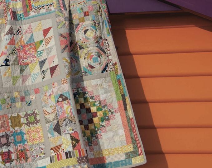 Long Time Gone Quilt Pattern by Jen Kingwell