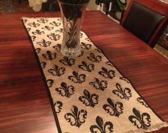 Delicieux Fleur De Lis Table | Etsy