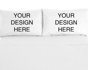 Personalized, Custom Printed Pillowcases