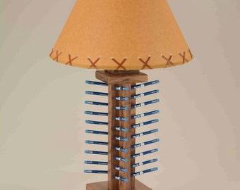 Golf lamp etsy table lamp golf pencil display aloadofball Choice Image