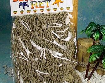 Brown Decorative Fish Net  (Small)  (EA)