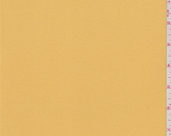 Yellow Gold Double Georgette, Fabric By The Yard
