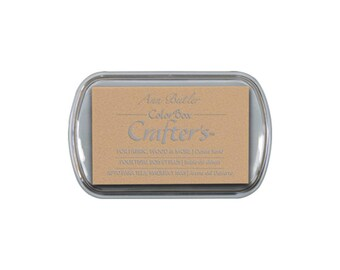 Desert Sand Colorbox Crafter's full size ink pad - pigment ink - fabric ink - beige - oatmeal - light brown
