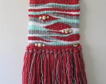 Woven Wall Hanging // Rosalie // tapestry / wall art / weaving / fibre art / wall decor / nursery / bedroom / home decor