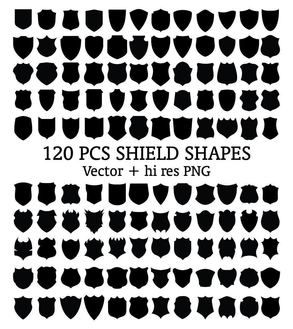 Shield Clipart Badge Clipart Emblem Clipart Emblem Shield