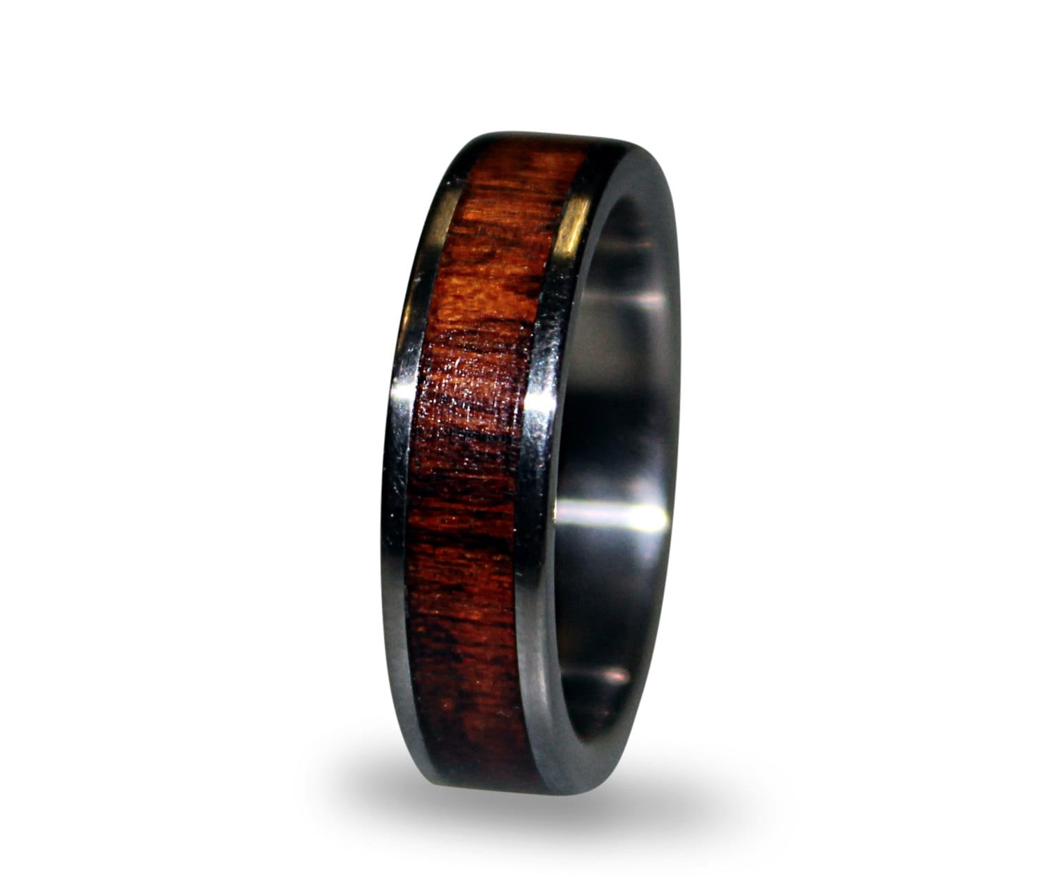 tension black gold with titanium triton white set diamond mens ring bands
