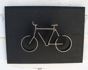 Metal Bicycle, Wall Decor, Bike Wall Art, Home Decor Bicycle, Wall Decor Bike Art, Groomsman Gift