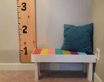 Kids Colorful Bench