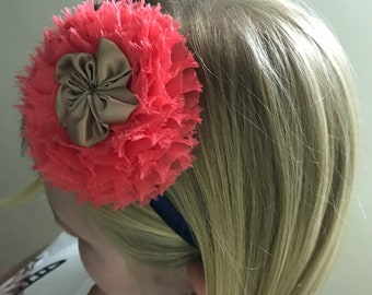 Girls Flower Headband