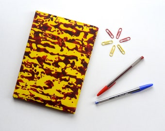 Yellow Haze // Ankara Notebook // African Print
