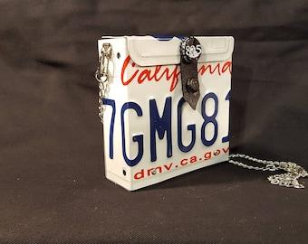 License Plate Purse - License Plate Art