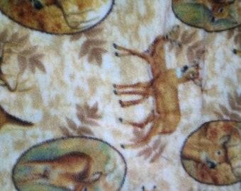 Deer Fleece Fabric