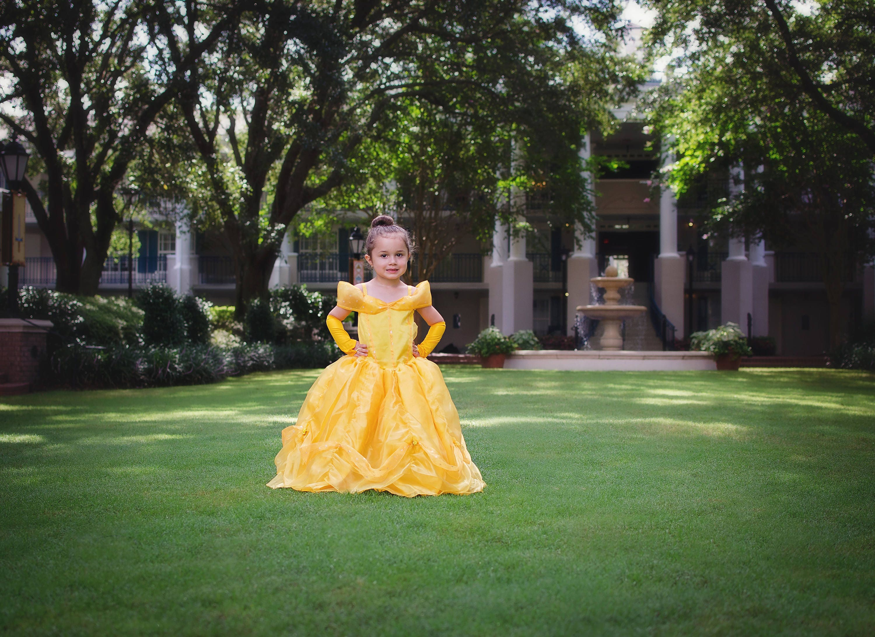 Belle Dress Disney Princess Beauty And The Beast Inspired Costume Yellow