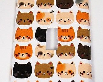 Light Switch Cover Switchplate  Wall Decor Light Switch Plate in  Cool Cats (236S)