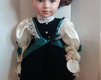 The Leonardo Collection Porcelain Doll Sally