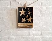 Vintage Paper Shooting Target - BB Shooting Stars- By Coleman