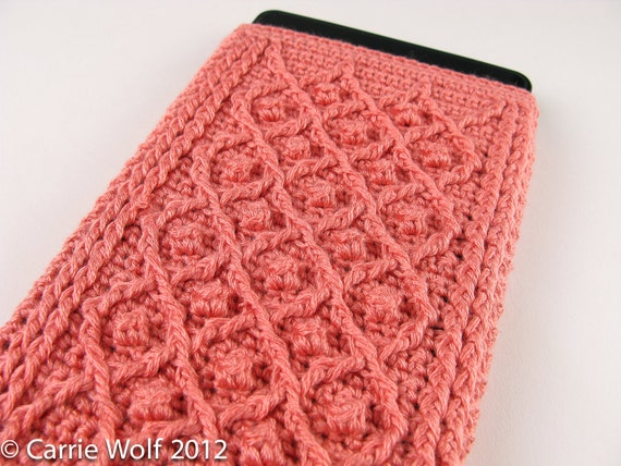 Häkeln Muster Kindle Fire Cover Sommer und Winter Rose