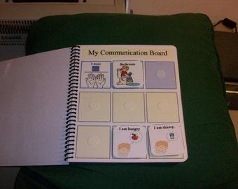 Large Grocery Shop List Autism Pecs Communication Book