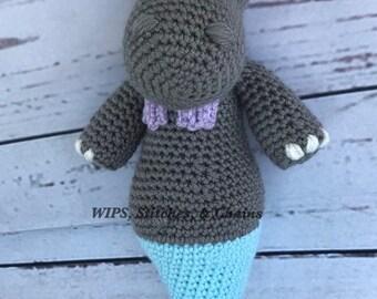 Bianca the hippo mermaid