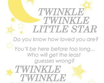 Twinkle Twinkle Little Star- CUSTOM
