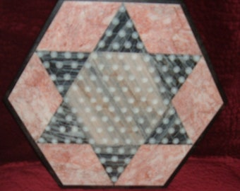 Beautiful Solid Marble Chinese Checker Game Board-Chinese Checkers-Vintage Chinese Checker Board-Marble Vintage Board