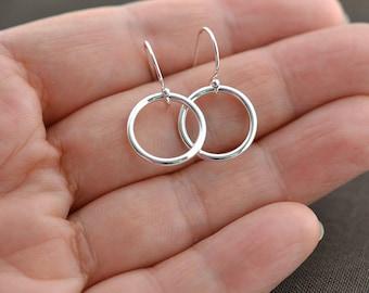 Dangle Earrings,Hoop Earrings,Dainty Earrings, Dainty Earrings,Everyday Earrings - Gift, Drop Earrings