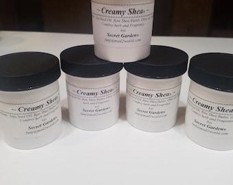 Creamy Shea Butter (4 ounces