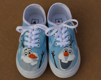 Hand Painted Shoes - Olaf